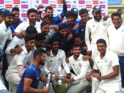Vidarbha Wins Irani Trophy