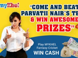 Parvatii Nair S Challenge In Ipl Fantasy Cricket League