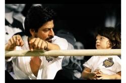 Shah Rukh Khan Abram In Hockey