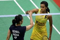 Saina Nehwal And Pv Sindhu Badminton