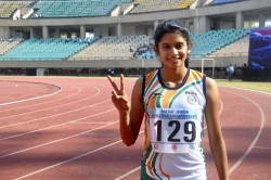 India Finish On Top South Asian Athletics