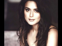 Preity Zinta Very Happy