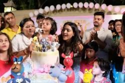 Dhoni Bravo Celebrate Raina Daughter Birthday