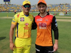 Chennai Super Kings Sunrisers To Battle For Final Birth In Ipl