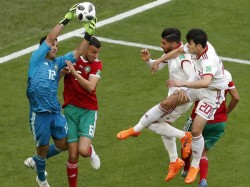 Iran Beats Morocco In World Cup Match