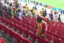 Senegal Fans Clean Stands Win Over Poland