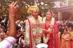 Mayank Agarwal Ties Knot Girlfriend