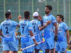 India Thrash New Zealand 4 0 In Mens Hockey Test Series