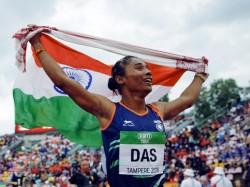 Hima Das Scripts History Wins Gold