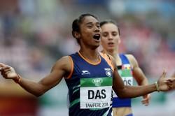 Asian Games 2018 Hima Das To Skip Mixed Team Relay