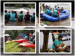 Malabar River Fest Kozhikode Kayaking Started