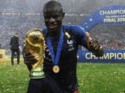French Midfielder Kante Shy Ask World Cup Trophy Stephen Nzonzi Helps