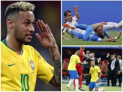 Brazil Star Neymar Defends His Diving In World Cup