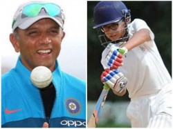 Rahul Dravid S Son Puts Match Winning Perfomance