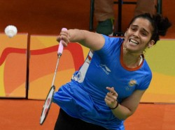 Indonesia Open Badminton Saina Nehwal Crashes Out