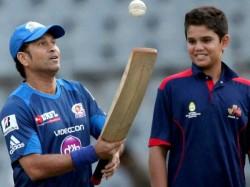 Arjun Tendulkar Has Lunch With England Cricketer