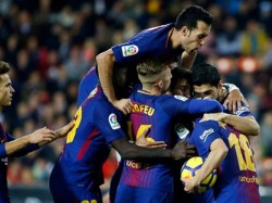 Barcelona Beat Sevilla 2 1 To Win Spanish Super Cup
