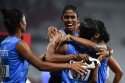 Asian Games 2018 India Win Gold In Womens Relay
