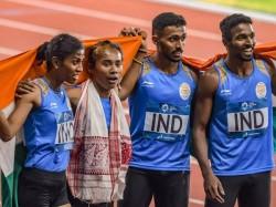 Asian Games 2018 India Win Silver Mixed Relay