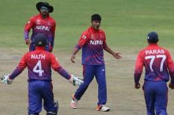 First Odi Netherlands Beat Nepal