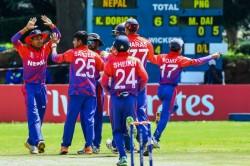 nd Odi Nepal Beat Netherlands