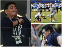 Maradona Upest At Not Being Considered As Argentina Coach