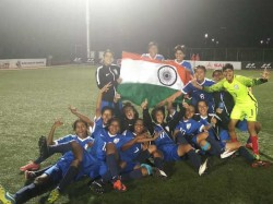 Indian Girsl Crowned Saff Under 15 Football Champions