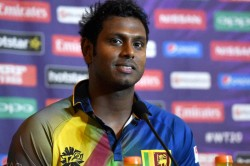Srilanka Sacks Cricket Team Captain Angelo Mathews