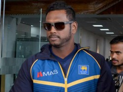 Angelo Mathews Hits Out At Lanka Cricket Board