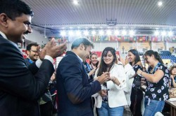 Indian Journalist Proposes To Colombian Chess Star