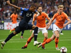 France Beats Netherlands In Uefa Nations League Football