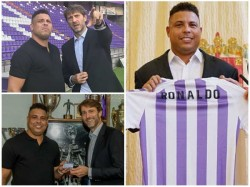 Brazil Legend Ronaldo Buys Spanish Club Real Valladolid