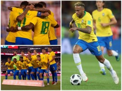 Brazil Beats Usa In Friendly Football Match