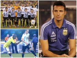 Argentina Draws Colombia In Friendly Football Match