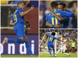 Brazil Beats El Salvador In Friendly Football Match