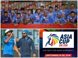 Asia Cup Cricket First Match On Saturday