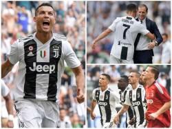 Cristiano Ronaldo Scores First Goal For Juventus