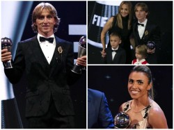 Luka Modric Wins Fifa Player Of The Year Award