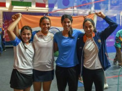 Silver For Indian Women S Squash Team At Asian Games