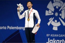 Asian Games 2018 Japan Swimmer Rikako Ikee