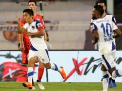 Bengaluru Fc Beats Pune City In Indian Super League Match