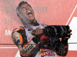 Spanish Star Marc Marquez Wins World Moto Gp Title