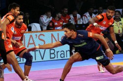 Pro Kabaddi 2018 Bengaluru Bulls Beat Haryana Steelers