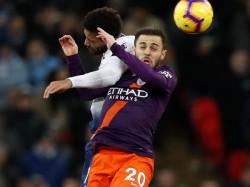 Manchester City Beat Tottenham 1 0 At Wembley
