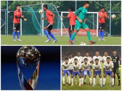 India Eyeing World Cup Berth Face South Korea