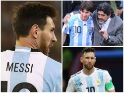 Lionel Messi Should Walk Away From Argentina Team Says Maradona