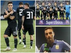 Argentina Beats Iraq In Friendly Football Match