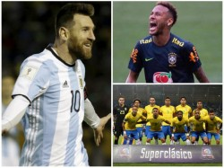 Neymar Happy With Messi S Absence In Brazil Argentina Classic Match