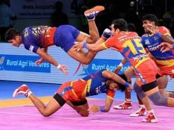 Pro Kabaddi 2018 Up Yoddha Beat Dabang Delhi