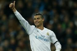 Cristiano Ronaldo Real Madrid President Florentino Perez